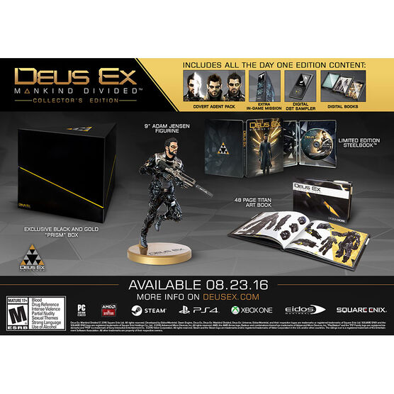 Xbox One Deus Ex: Mankind Divided Collector's Edition
