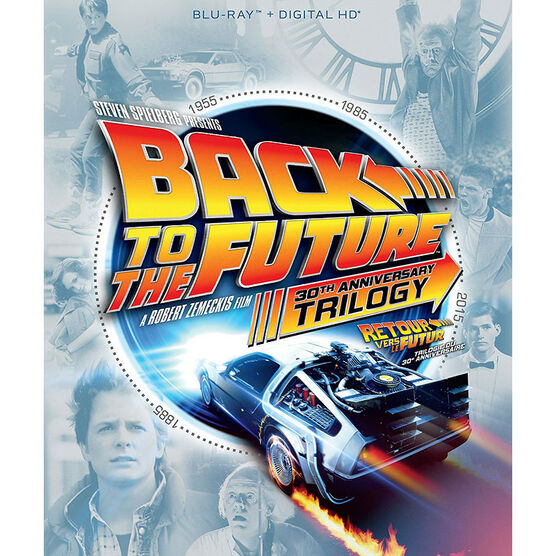 Back To The Future Trilogy: 30th Anniversary Edition - Blu-ray