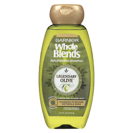 Garnier Whole Blends Replenishing Shampoo - Legendary Olive - 370ml