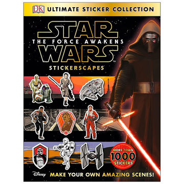 Star Wars The Force Awakens Stickerscapes