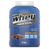100% Whey Protein Powder - Chocolate - 2kg