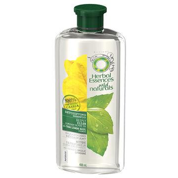 Herbal Essences Wild Naturals Detoxifying Shampoo - 400ml