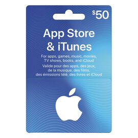 iTunes Card - $50