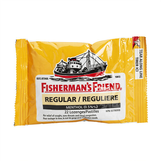 Fisherman's Friend - Regular Strength - 22's