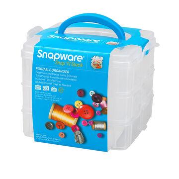 Snapware Snap 'N Stack Organizer - 3 Layer - 6 x 6inch