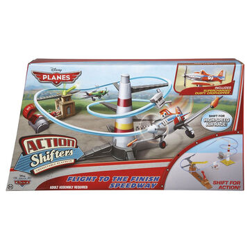 Disney Planes Action Shifters Flight To The Finish Speedway Playset