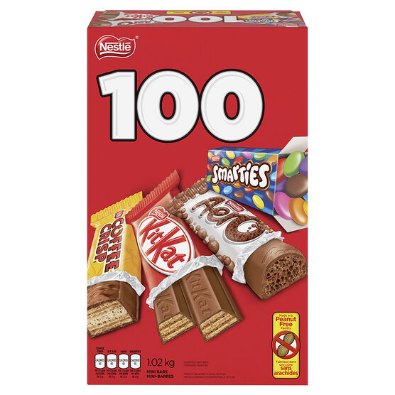 Nestle Mini Bars - Assorted - 100's