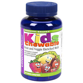London Naturals Kids Chewable Multivitamin 90's