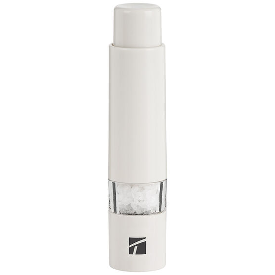 Trudeau Thumb Salt Mill - White - 6inch