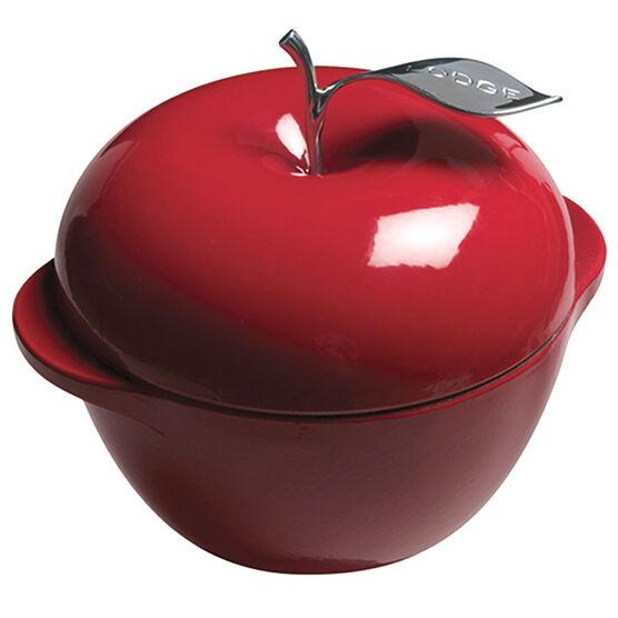 Lodge Cast Enamel Apple Dutch Oven - Red - 3qt