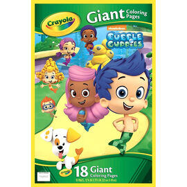 Crayola Giant Colouring Pages - Nickelodeon Bubble Guppies