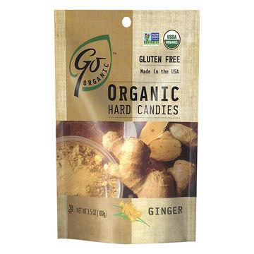 Go Organic Hard Candy - Ginger - 100g