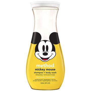 Method Mickey Mouse Body Wash - Lemonade - 532ml
