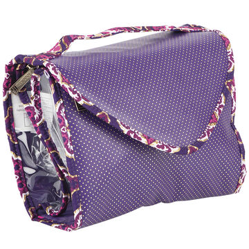 Modella Purple Moroccan Fitted Valet