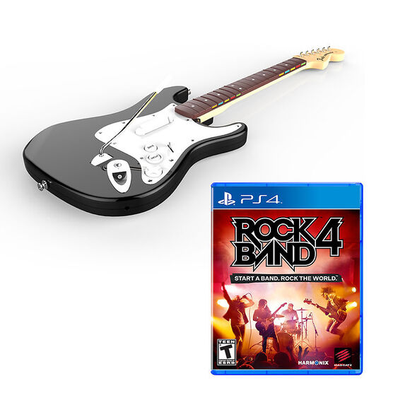 PS4 Rock Band 4 - With Guitar