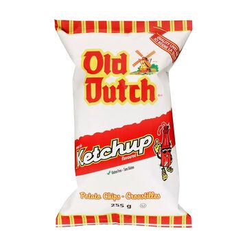 Old Dutch Potato Chips - Ketchup - 255g