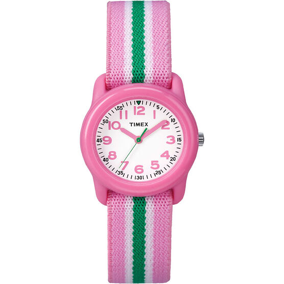 Timex Youth Watch - Pink/Green - TWC05900KU