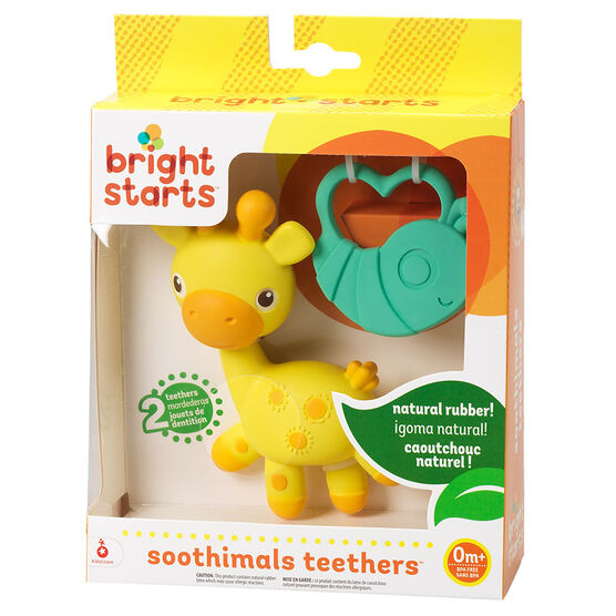 Bright Starts Soothimals Teethers - 10478 - Assorted
