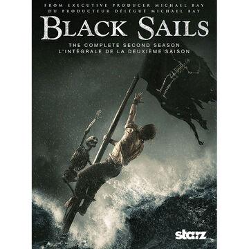 Black Sails: The Complete Second Season - DVD