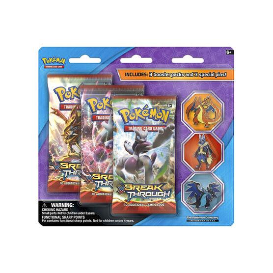 Pokémon TCG 3 Mega Evolution Collector's Pin - 3 pack