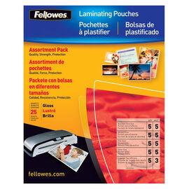 Fellowes Laminating Pouch Starter Kit - 25 pack