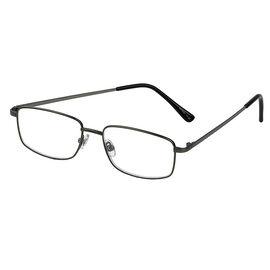 Foster Grant T10 Reading Glasses - Gunmetal - 1.25