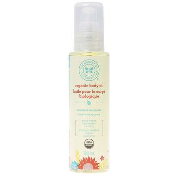 Honest Organic Body Oil - 120ml
