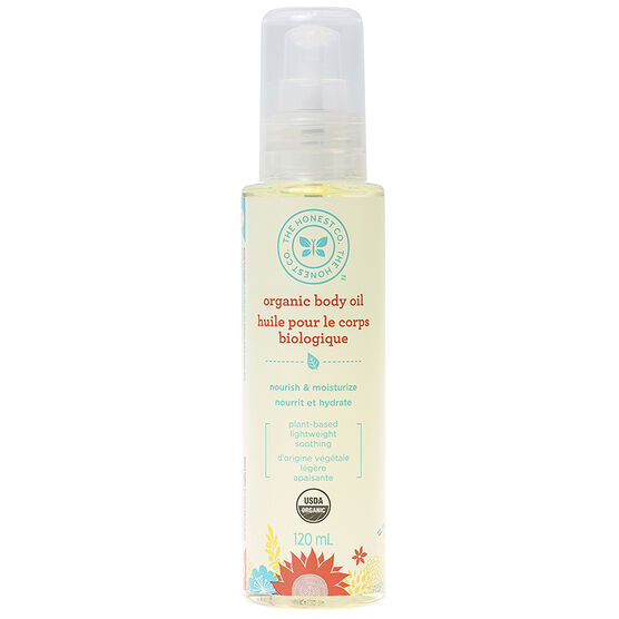 Honest Organic Body Oil - 120ml