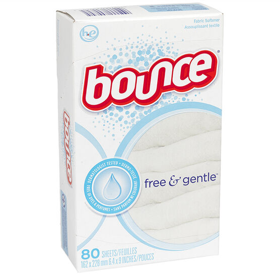 Bounce Fabric Softener Sheets - Free - 80's