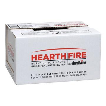 Hearthfire Log Case of 6 - 6 pack - 4 lbs
