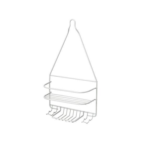 Homz Shower Organizer - White/Large