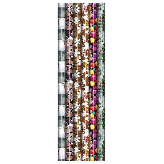 Plus Mark Photo Gift Wrap - 30x216in - 082382PMT - Assorted