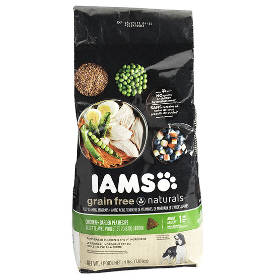 Iams Chicken & Pea Dog Food - 1.8kg
