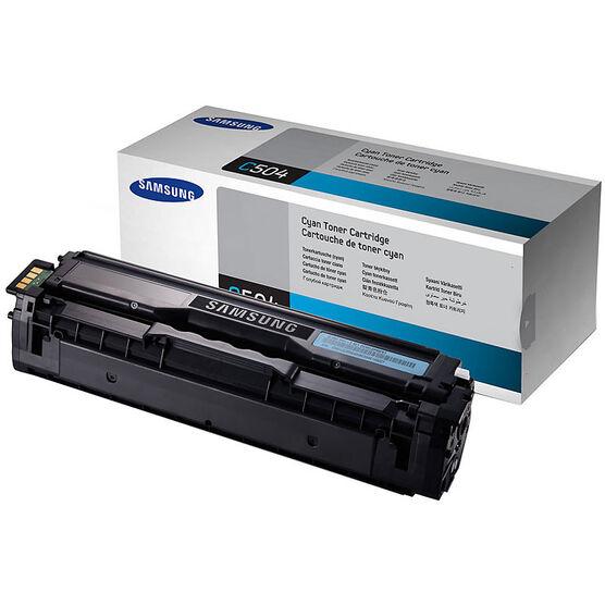 Samsung Toner - 1800 pages - Cyan - CLT-C504S/XAA