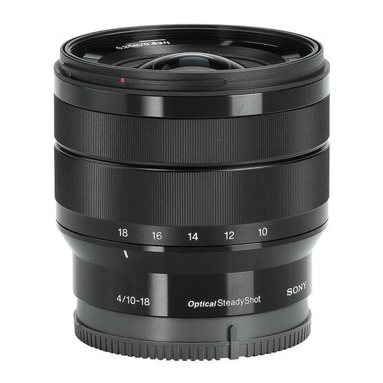 Sony 10-18mm F/4 Ultra Wide Lens - Black