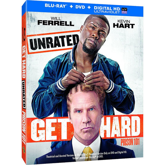 Get Hard - Blu-ray + DVD + Digital HD