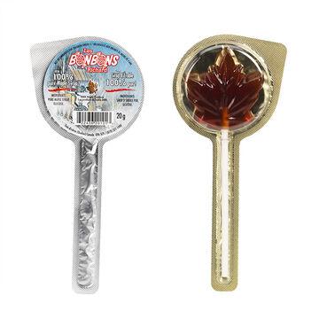 Bonbon Maple Syrup Lollipop - 20g