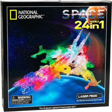 Laser Pegs National Geographic Space Kit