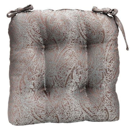 London Drugs Jacquard Chairpad - Grey - 41 x 42cm