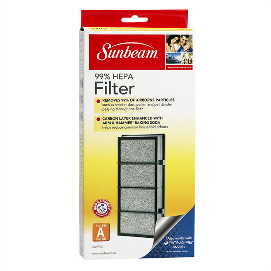 Sunbeam 99% HEPA Replacement Air Filter - SAPF30PDQ-CN