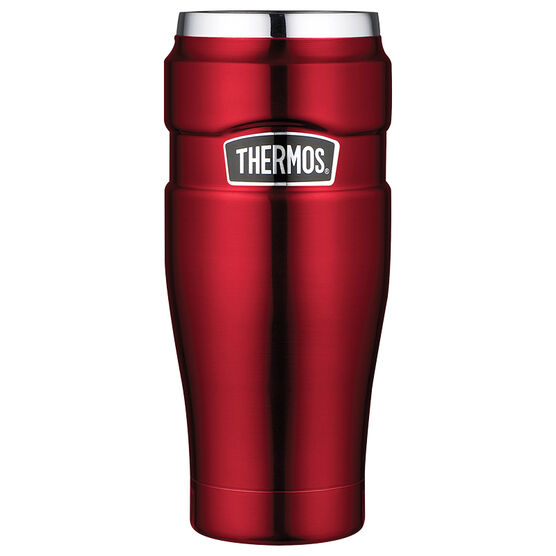 Thermos Stainless Steel Vacuum Insulated Travel Tumbler - 470ml - Cranberry