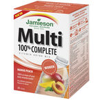 Jamieson Multi 100% Complete Vitamin Drink Mix Women's - Mango Peach - 30's
