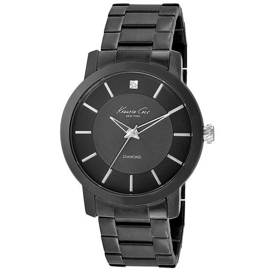 Kenneth Cole Classic Watch - Black - 10008103