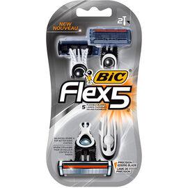 Bic Flex5 Razor - 2's