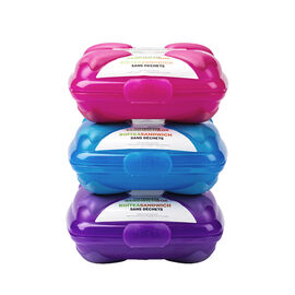 Boomerang Sandwich Box - Assorted - 400ml