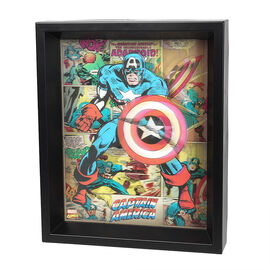 Marvel 3D Shadow Box - Assorted - 8 x 10in