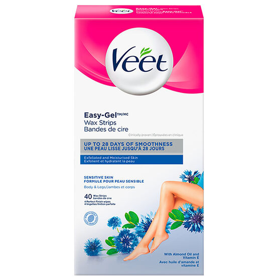 Veet Sensitive Formula Wax Strips - 40's