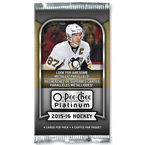 NHL O-Pee-Chee Platinum Booster Clamshell - 2015-16 Hockey Cards