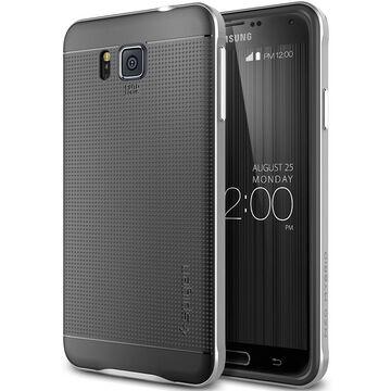 Spigen Neo Hybrid Case for Samsung Galaxy Alpha - Satin Silver - SGP11093