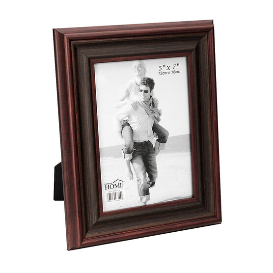London Home Picture Frame - Classic Wood - 5x7in